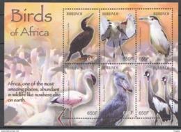 PK112 BURUNDI FAUNA BIRDS OF AFRICA 1KB MNH STAMPS - Altri