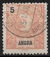 Angra – 1897 King Carlos 5 Réis - Angra
