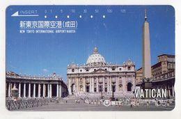 JAPON TELECARTE VATICAN - Vaticano