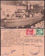 "Portland OR - Post Card - ""Dan & Louis Oyster Bar"" - 1961 - Non Circulee - Cygnus - Portland"