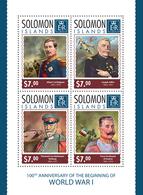 Solomon Islands 2014 War WW1 - Guerre Mondiale (Première)