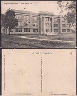 New Iberia LA - Post Card - Public High School - Circa 1915 - Non Circulee - Cygnus - Etats-Unis