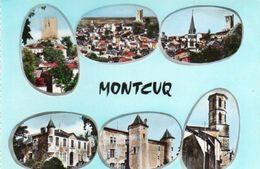 V95Ch  46 Montcuq Multivues (pas Courante) - Montcuq