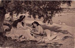 SALA: Daphnis Et Chloë [ Nu Nude CPA Allemande ] FM016 - Paintings