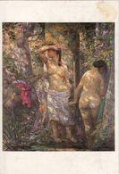 SUNE: Deux Nus En Forêt  [ Nu Nude CPM Chinoise ] FM018 - Paintings