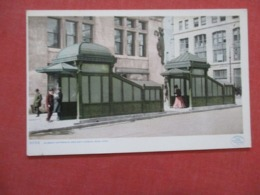 Subway Entrance & Exit Kiosks  New York City    New York     Ref 4179 - Manhattan