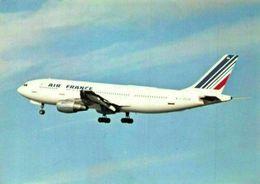 Civil Aircraft Series D.222 Air France Airbus Airplane Postcard - Cartes Postales