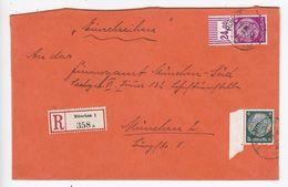 Deutsches Reich R-Ortsbrief Mit OR-Frankatur - Duitsland