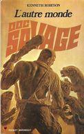 DOC SAVAGE MARABOUT POCKET RARE EDITION 1975 - L AUTRE MONDE  DE KENNETH ROBESON, JIM BAMA, HENRI LIEVENS - Marabout Junior