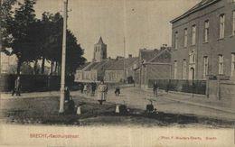 BRECHT  GASTHUISSTRAAT  ANTWERPEN  ANVERS Bélgica Belgique - Brecht