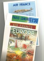 Lot De  Menus-air France - Menus