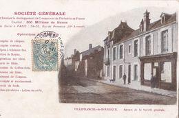 CPA-266..........VILLEFRANCHE DE ROUERGUE...SOCIETE GENERALE - Villefranche De Rouergue