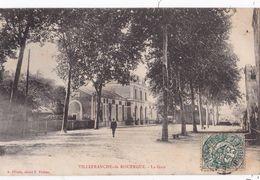 CPA-267B.........VILLEFRANCHE DE ROUERGUE ...LA GARE - Villefranche De Rouergue