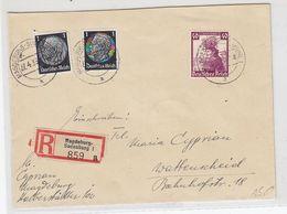 Deutsches Reich R-Brief Mit Stände Frankatur +AKs - Duitsland