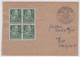 Deutsches Reich Brief Mit VB-Frankatur Und SST Hofgastein - Lettres & Documents