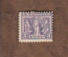 USA. (Y&T) 1919 - N°224. *Déesse De La Victoire*   * 3c *  Obl - United States