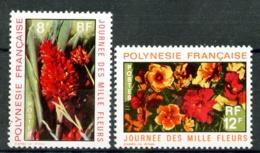 POLYNESIE - 83 Et 84 - 2 Valeurs Fleurs - Neufs N** - Très Beaux - Neufs