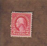 USA. (Y&T) 1922-25 - N°229. *G. Washington*   * 2c * Neuf - Vereinigte Staaten