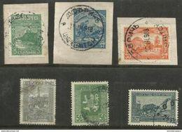 Bulgaria - 1917-21 Liberation Of Macedonia Used On Small Pieces & Used - 1909-45 Kingdom