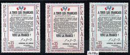 YT N° 1408 - Blanc - Rosé - Bleuté - Neufs ** - Errors & Oddities