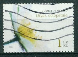 Bm Finland 2006 MiNr 1819 Used | Dryas Octopetala - Finland