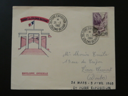 Lettre Foire Exposition De Colomb-Béchar Algérie 1960 - Storia Postale