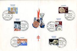 18160100 BE 19601205 Bx; Tuberculose, Métiers D'art; In-folio Cob1163-68 1-4 - Feuillets
