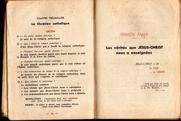 Catéchisme Publié Dans Le Diocèse D'Auch Editions Tardy Bourges 1947 Inter J...E... Communion à Villecomtal Arros1952... - Livres, BD, Revues