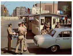 (A 13) Germany - Berlin - Checkpoint Charlie - Andere Kriege