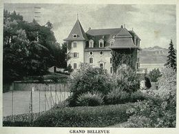 LAUSANNE Grand Bellevue Béthusy Tennis Clinique Du Dr. Blanchod (prendre Le Tram No. 7) - VD Vaud