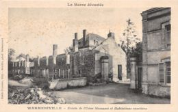 Warmeriville (51) - Entrée De L'Usine Simmonet Et Habilitations Ouvrières - Other Municipalities