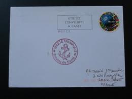 Lettre Cachet Service De Santé Sous Marin Le Triomphant Brest 29 Finistère 1998 - Poststempel (Briefe)