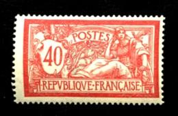 119 - 40c  Merson - Neuf N* - Trés Beau - 1900-27 Merson