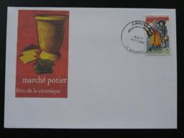 Lettre Cover Fêtes De La Céramique Aubagne 13 Bouches Du Rhone 2003 (ex 1) - France