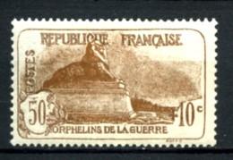 230 - 50c+10c  3° Série Orphelins - Neuf N** - Très Beau - Ongebruikt