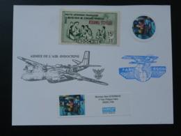 Carte Commemorative Card Armée De L'Air En Indochine (ex 1) - Vliegtuigen