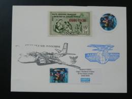 Carte Commemorative Card Armée De L'Air En Indochine (ex 3) - Vliegtuigen