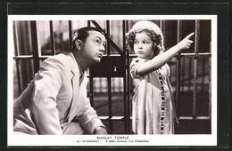 AK Schauspielerin Shirley Temple & Schauspieler Robert Young In Stonaway - Acteurs