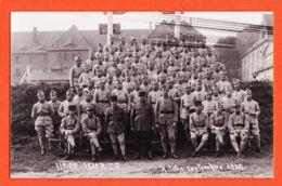 X57075 Carte-Photo BITCHE 57-Moselle 11e Cie 153e R.I.F Septembre 1936 Photographe Charles MONTAG 32 Rue TEYSSIER - Bitche