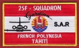 Polynésie Française - Tahiti / 25F / Patch D'épaule 2018 / Gardian S.A.R. 2018 - Ecussons Tissu