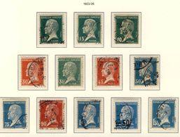 170 à 181 Série PASTEUR OBLITEREE Année 1923 180 Remplacé Par 219 - 1922-26 Pasteur