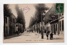 - CPA FREVENT (62) - Rue De Doullens 1917 (avec Personnages) - Edition A. DOYEN - - Francia