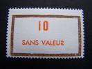 FICTIFS NEUF ** N°F188 SANS CHARNIERE (FICTIF F 188) - Phantomausgaben