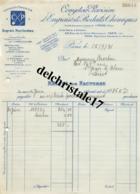 75 PARIS SEINE 1931 Engrais Horticoles Comptoir Parisien Engrais & Produits Usines ANTIBES LE MANS LYON .. à M. BROCHON - France