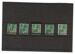 SURCHARGE  E A      ALGER   1  .  11  X  5 - Algerien (1962-...)