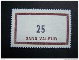 FICTIFS NEUF ** N°F137 SANS CHARNIERE (FICTIF F 137) - Phantom