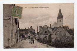 - CPA TELOCHÉ (72) - Route D'Ecommoy - Photo Doisneau 286 - - France