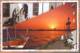 Kuwait - Postcard Unused - Kuwait City -  The Port ,Historical Shaw In Shuwaikh Secondary - 2.scans - Koweït