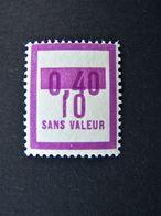 FICTIFS NEUF ** N°F 69 SANS CHARNIERE (FICTIF F69) - Fictie