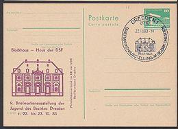 Dresden Blockhaus Haus Der DSF (Deutsch-Sowjetische-Freundschaft) 1983 Als C-GA Der DDR - [6] República Democrática